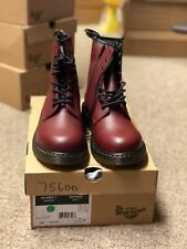Dr.AirWair Martens Boots in Cherry Red Sizes 1-6 US Men/Youth Sizes New with Box