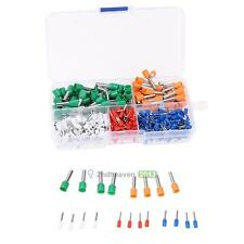 400pcs Wire Copper Crimp Connector Insulated Cord End Terminal 22-10AWG Tools