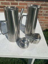 More details for old hall stainless steel avon design coffee set by robert welch