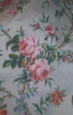 Ralph Lauren Toulouse Floral Full Double Flat Ruffled Sheet Bedding NEW