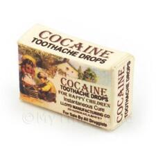 Dolls House Miniature Cocaine Toothache Drops Box