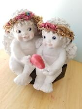 """Dreamsicles """"Sweethearts"""" Shelf Sitter 1994 Signed Kristin Retired Dc200"""
