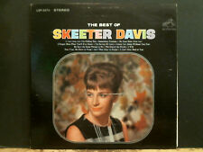 SKEETER DAVIS  The Best Of . . .   LP   Country  Great !