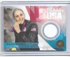 RARE 2016 TOPPS OLYMPIC DIANA TAURASI GOLD RELIC CARD ~ 03/25 ~UCONN ~ WNBA