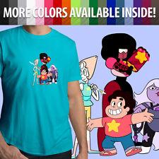 Steven Universe Garnet Amethyst Pearl Crystal Gems Unisex Mens Tee Crew T-Shirt