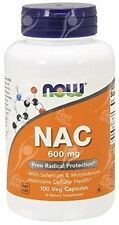 NOW Foods, N.A.C, 600mg x100vcaps; - con boooster con molibdeno
