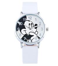 Mickey Women 's Fashion Leather Band Analog Quartz Round Wrist Watch Watches ZY1