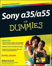 Sony Alpha SLT-A35 / A55 For Dummies-ExLibrary