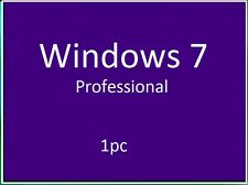 Microsoft Windows 7 Professional 32/64 bit prodotto KEY + Download Link .1pc