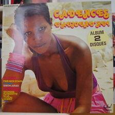 CADENCES D'AUJOURD'HUI VARIOUS ARTISTS LIMBO CALYPSO  DOUBLE FRENCH LP 1979