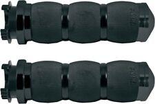Avon Grips - MT-AIR-90-ANO - Air Cushioned Metric Grips, Black Black Anodized