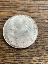 Joannes Pavlvs II Pont. Max Pope John Paul II Coin Token!!  Silver