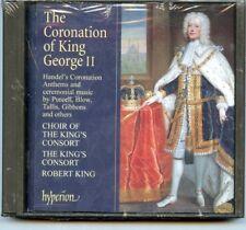 The Coronation of King George II - Handel - Super Audio CD SACD 2-Disc Hyperion