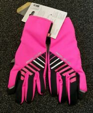 PEARL iZUMi Women's Bicycle Cycle Elite Softshell Gel Gloves Screaming Pink Med