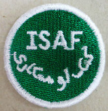 Toppa/Patch Commemorativa omerale MISSIONE ISAF - NATO / AFGHANISTAN