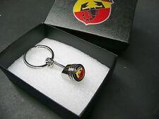 NEU für Fiat ABARTH Schlüsselanhänger Ferrari Tributo 595 695 Keychain in Box