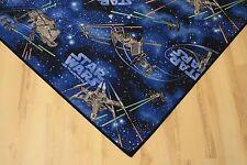 Kinder Teppich Spielteppich Star Wars blau 200x170 cm Weltall NEU!