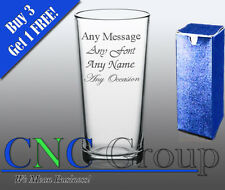 Personalised Engraved Hi Ball Glass Birthday Any Occasion Gift Present
