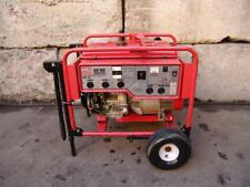 MULTIQUIP MW HIGH CYCLE GENERATOR 1 & 3 PHASE 5000 WATTS 11 hp HONDA GDP-5H   #4