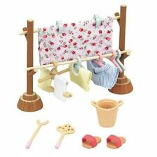 Sylvanian Families WASHING CLOTHESPOLE SET Epoch Calico Critters
