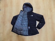 The North Face Hy Vent Women Parka Jacket Jacke Top Goose Down Warm Hood Puffy