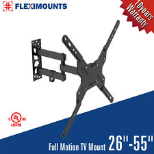 Full Motion TV Wall Mount Swivel Bracket 26 32 40 42 50 Inch LED LCD Flat Screen