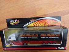 CORGI 1/64 EDDIE STOBART VOLVO SKELETAL TRAILER TRUCK REF TY86731