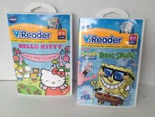 Vtech V.Reader Spongebob Squarepants Model Sponge & Hello Kitty's Surprise NEW