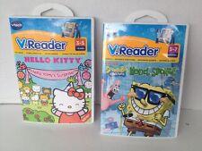 Vtech V.Reader Spongebob Squarepants Model Sponge & Hello Kitty's Surprise NEW