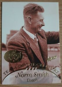 1996 Select AFL Hall Of Fame Team Of The Century Card Norm Smith Melbourne TC1