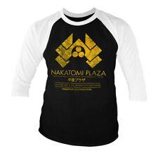 Officially Licensed Die Hard - Nakatomi Plaza Baseball 3/4 Sleeve Tee