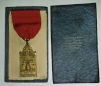 J.A. Meyers & Co. Medal Los Angeles Dept. Of Recreation 1928 CBR 26 2nd Place