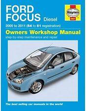 Ford Focus Mk2 Diesel 2005-2009 Haynes Workshop Manual 4807