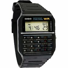 Casio MEN'S Watch, Calculator , Water Resistant Dual Time Daily Alarm CA53W-1Z