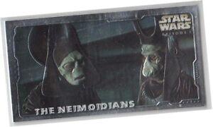 "Star Wars Episode 1 Series 2 The Phantom Menace - ""Embossed Foil"" Card Selection"