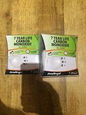 2x FireAngel CO-9X Carbon Monoxide Detector , 7 YEAR LONG LIFE....
