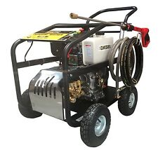 HIGH PRESSURE POWER WASHER CLEANER 3500PSI 1OHP DIESEL KEY START *FREE DELIVERY*