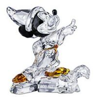 SWAROVSKI SILVER CRYSTAL SORCERER MICKEY 2009 LTD ED 955438 MINT IN BOX&REDUCED