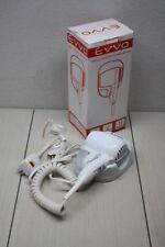 EVVO 1600 Watt Wall Mount Hair Dryer with LED Nightlight New Auto Shutoff 6ft
