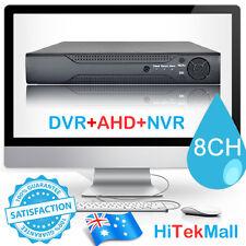 8CH H.264 DVR NVR AHD 960H HDMI Home CCTV Surveillance Security Video System AU
