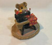 WEE FOREST FOLK | MISS BOBBIN M-40 Sewing Machine - from 1979 , 41 YEARS OLD !