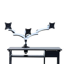 Computer Monitor Mount Desk Adjustable Swivel Tilting LED LCD Arms Office Table