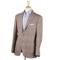 NWT $1550 FLANNEL BAY NAPOLI Loro Piana Wool-Silk-Linen Sport Coat 38 R