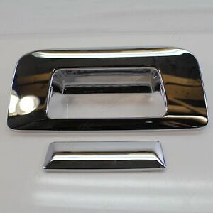 Putco Chrome Rear Tailgate Handle Cover Fits 07-14 Silverado Sierra 1500 2500HD