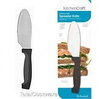Kitchen Craft Best 20cm Sandwich Spreading  Serrated Spreader Butter Knife