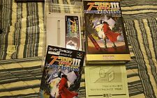 Super Fire Pro Wrestling III 3 Final Bout (Super Famicom) Tested (US Seller)