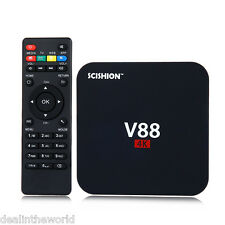 SCISHION V88 Android TV Box Rockchip 3229 Quad Core 4K H.265 1GB/8GB Mini PC EU