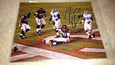 "Jeff King Virginia Tech Hokies After ""TD"" Signed 8x10 - Panthers Cardinals"