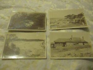 4 old  postcards cronulla   sydney  australia