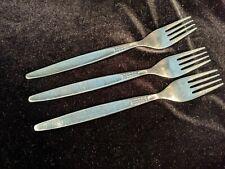 Vintage Rostfrei Stainless Flatware 3 Forks Vintage Dots Mid Century Modern